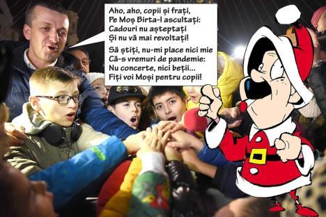 Moşul cel rău: Anul acesta, Primăria Oradea nu primeşte colindători şi nici nu-l aduce pe Moş Crăciun
