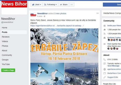 Cântăreţii de partid: Mihai şi Jessie Baneş îl pun în umbră pe Alex Velea la Serbările Zăpezii