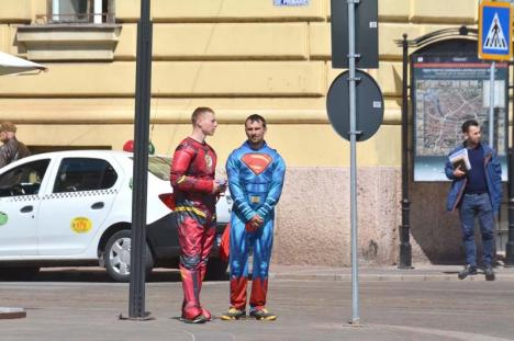 Superman la Super-Bolo: Centrul Oradiei atrage supereroi!