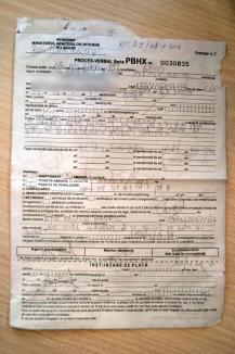 Agentul ezistă: Cum a fost amendat un şofer orădean cu 300 de lei în Beiuş, pe o stradă fără indicatoare