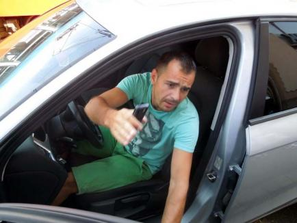 Cocalar adevărat: Şmecheraşul cu Audi care a blocat tramvaiele face pe revoltatul