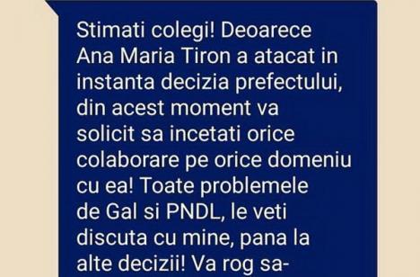 SMS-ul lui Mang: Liderul PSD Bihor, prins cu minciuna!