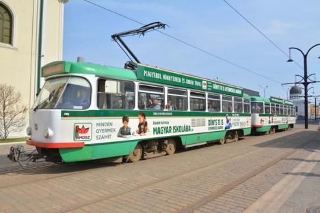 Hej, tramvai… UDMR îşi îndeamnă electorii să-şi înscrie copiii numai la şcolile maghiare