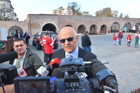 Raed Arafat la Oradea: 'RO-ALERT nu trimite alerte înainte de cutremur, ci după. Populaţia nu este pregătită să afle de un cutremur cu câteva secunde înainte'
