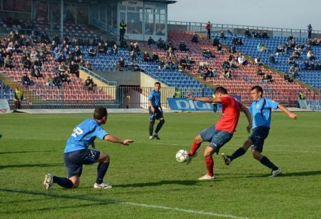 Semieşec pe teren propriu pentru FC Bihor: Doar 1-1 cu Maramureşul (FOTO)