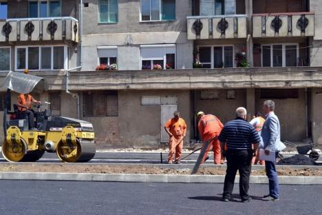 Prima din 21: Strada Molidului a fost modernizată! (FOTO)