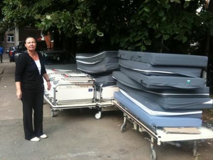 Alte 47 de paturi de la fundaţia Maica Tereza au ajuns în saloanele de la Judeţean