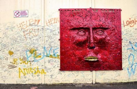 Expoziţie de picturi murale din Irlanda, în Palatul Vulturul Negru (FOTO)