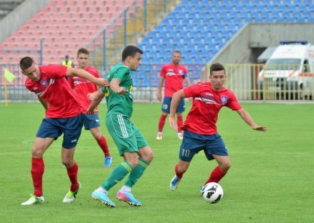 Înfrângere pentru FC Bihor în ultimul joc din actualul sezon (FOTO)