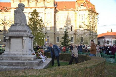 Sărbătorirea naşterii poetului Ady Endre, monopolizată de radicalii lui Tokes Laszlo (FOTO)
