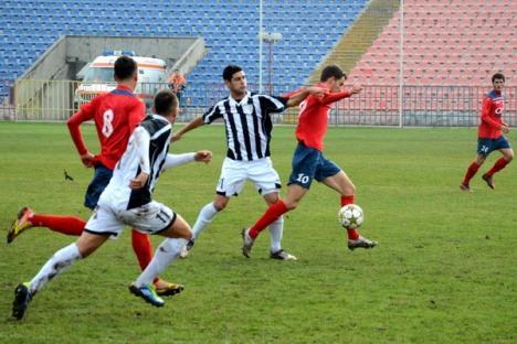Adio promovare! FC Bihor a pierdut cu 2-3 în faţa celor de la Poli Timişoara (FOTO)