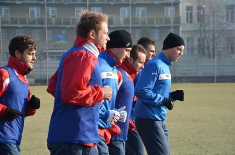 FC Bihor s-a reunit cu noul antrenor şi are în lot un jucător al CFR Cluj (FOTO)