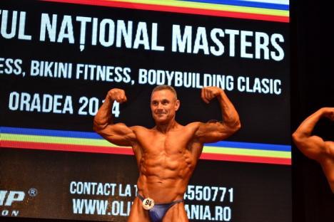 Ion Marin a câştigat locul trei la naţionalele de culturism de la Oradea (FOTO/VIDEO)