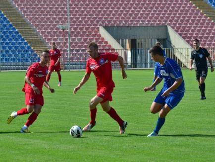 FC Bihor s-a impus cu 2-0 în cel de-al doilea amical al verii (FOTO)