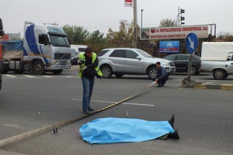 Orădean mort, după ce a fost lovit de un TIR pe şoseaua de centură (FOTO)
