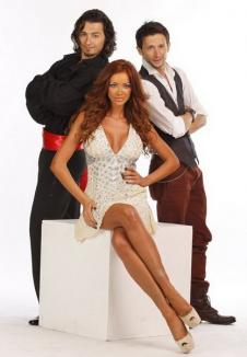"""Orădenii de la """"Dansez pentru tine"""", cuplaţi cu Nicoleta Luciu şi Bianca Drăguşanu"""
