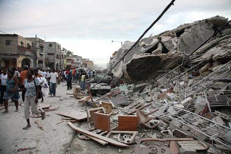Seism violent în Haiti (FOTO)