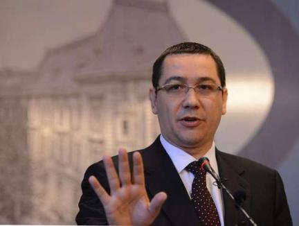 Victor Ponta, ministru interimar al Justiţiei