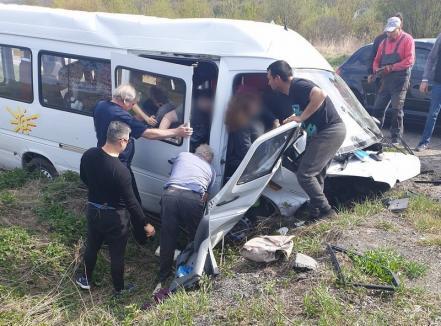 Elevii răniţi în accidentul din Cluj veneau la Oradea, la Olimpiada Naţională de Biologie (VIDEO)