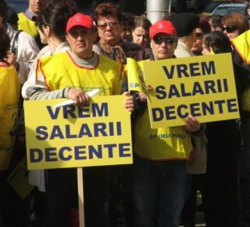 Funcţionarii publici ameninţă: din 27 septembrie, grevă pe termen nelimitat