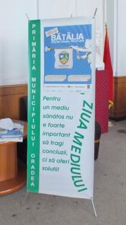 Mesaj pentru orădeni, de Ziua Mediului: Colectaţi selectiv deşeurile! (FOTO)