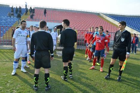 FC Bihor a câştigat jocul de pe teren propriu cu FC Botoşani (FOTO)
