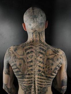 Tatuajele 3D, noua fiţă