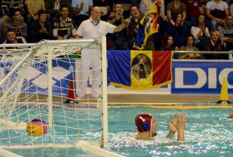 Poloiştii români au pierdut la Oradea primul meci din Liga Mondială împotriva Ungariei (FOTO)