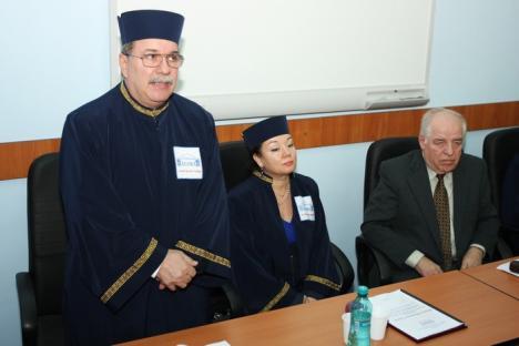 Matematicianul şi informaticianul Grigor Moldovan a devenit Doctor Honoris Causa al Universităţii Agora