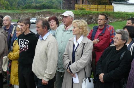Placa comemorativă de pe Bastionul Bethlen al Cetăţii Oradea, dezvelită (FOTO)