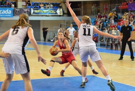 Campionatul European de baschet feminin U18 - Divizia B s-a încheiat cu victoria Ungariei (FOTO)