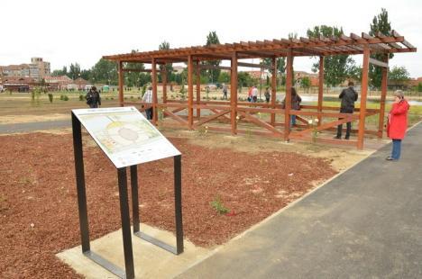 Primăria deschide publicului Parcul Salca, o investiţie de peste jumătate de milion de euro (FOTO/VIDEO)