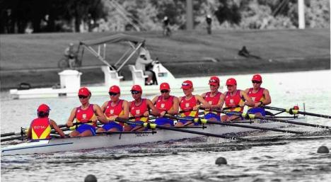 Echipajul feminin 8+1 al României, aur la Campionatul Mondial!