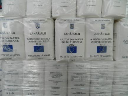 ASCO împarte începând de luni ajutoarele alimentare pentru 13.000 de orădeni săraci (FOTO)
