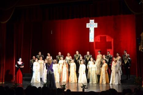 Vocile angelice: Corul Madrigal a concertat la Oradea în faţa episcopilor Sofronie Drincec şi Virgil Bercea (FOTO/VIDEO)