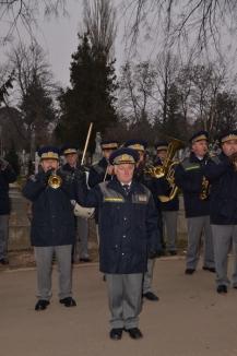 Memoria eroilor Revoluţiei Române, cinstită cu onoruri militare (FOTO)
