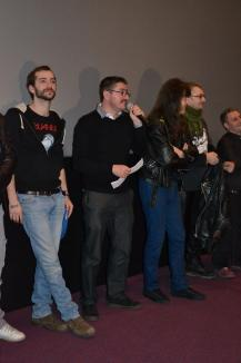 """""""Rocker"""", filmul lui Marian Crişan, a avut premiera cu sala plină la Oradea (FOTO)"""