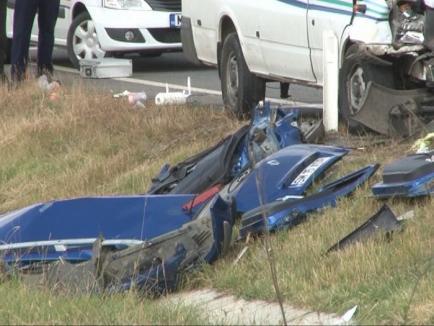 O tânără a murit şi patru persoane sunt rănite, după un nou accident pe DN 19 Oradea - Satu Mare (FOTO)