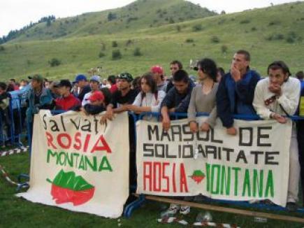 Băsescu: Proiectul Roşia Montană trebuie făcut