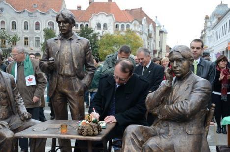 Candidaţii UDMR au intrat în campania electorală pe imnul Ungariei (FOTO)