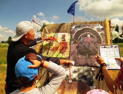 La ochit de ouă şi salam, în cea de-a treia etapă a Campionatului Judeţean de Tir cu Arcul (FOTO)