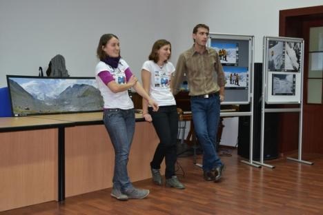 """Crazy rumânski"": Bihorencele care au urcat pe vârful Mramornaya Stena şi-au povestit aventura (FOTO)"