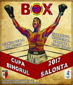 Salonta va găzdui Cupa Bihorul 2017 la box