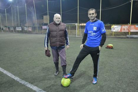 Minifotbalul e mare! Un grec stabilit în Oradea a transformat minifotbalul într-un adevărat fenomen (FOTO)