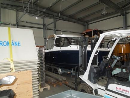 Se dau în bărci! ABA Crişuri şi-a cumpărat barcă de agrement de 41.000 de euro, motivând că este pentru intervenţii (FOTO)