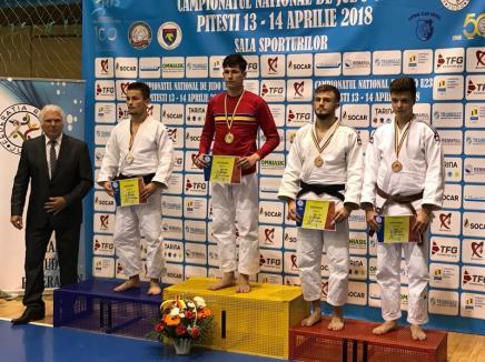Patru medalii şi două titluri naţionale pentru judoka orădeni la Naţionalele de tineret de la Piteşti