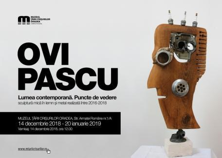 'Puncte de vedere': Fotograful şi artistul Ovidiu Pascu îşi prezintă cele mai noi lucrări la Muzeul Ţării Crişurilor