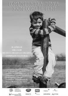 Comunitatea Tinca prin ochi de copil: Elevii romi expun fotografiile făcute acasă