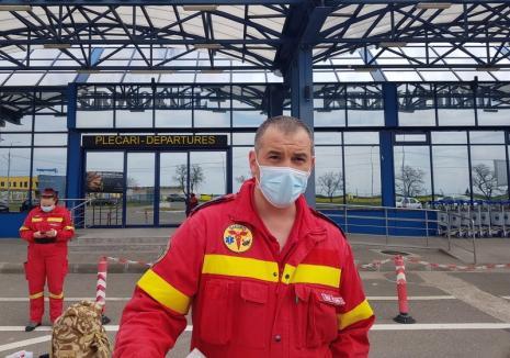 După Italia, Republica Moldova: 7 urgentişti din Oradea au plecat în misiune medicală la Chişinău