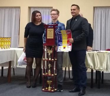 Andrei Ioan Timofte a fost desemnat, în premieră, sportivul anului la CS Shogunul Oradea!